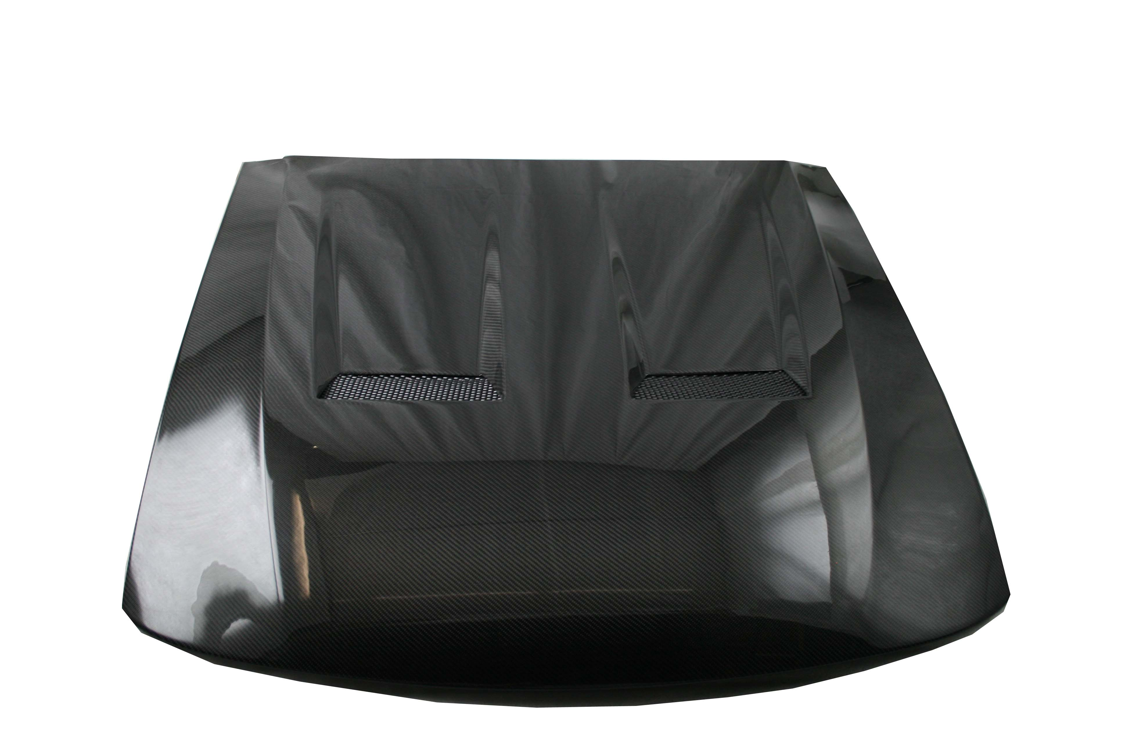 1999 2004 ford mustang 2dr heat extractor carbon fiber hood