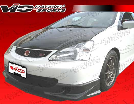2002-2003 Honda Civic Si Jdm Hb Techno R Carbon Fiber Front Lip