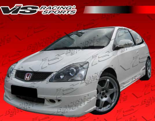 2004-2005 Honda Civic Si JDM Hb Techno R Front Lip
