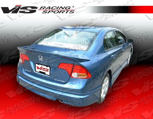 2006-2011 Honda Civic 4Dr Fuzion Rear Spoiler
