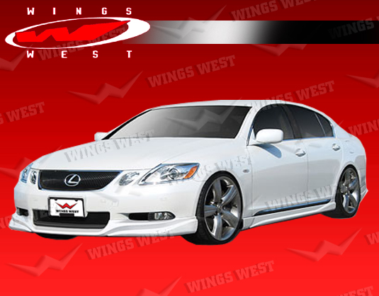 2006-2011 Lexus Gs 300/430 4Dr Jpc Side Skirts Urethane