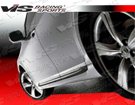 2006-2011 Lexus Gs 300/430 4Dr Techno R Side Skirts
