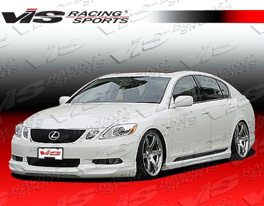2006-2011 Lexus Gs 300/430 4Dr Wing Side Skirts