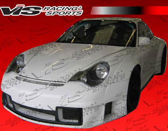 2002-2004 Porsche 996 2Dr D3 Rsr Wide Body Full Kit