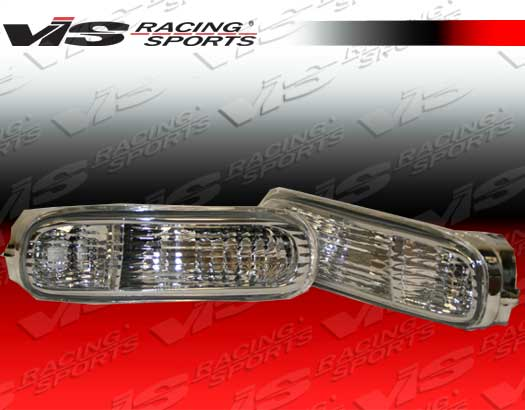 1993-1998 Toyota Supra Clear Bumper Light Set