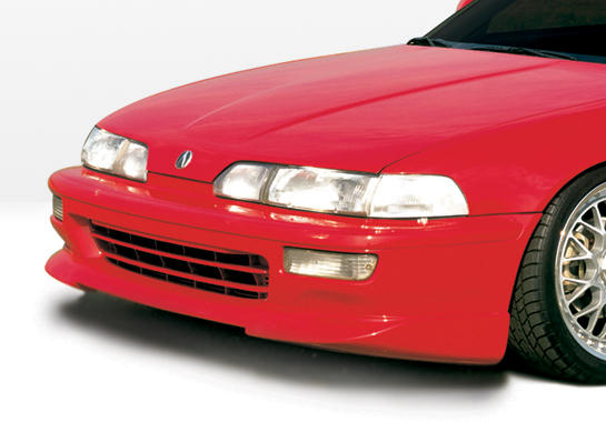1992-1993 Acura Integra 2 Door Racing Series Front Lip Polyurethane